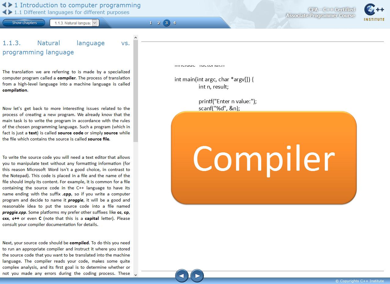 Self Enroll Courses C Institute C C Certification