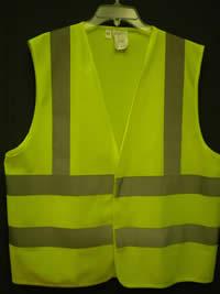 Economy Vest Safety Green