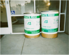 Food Collection Bins