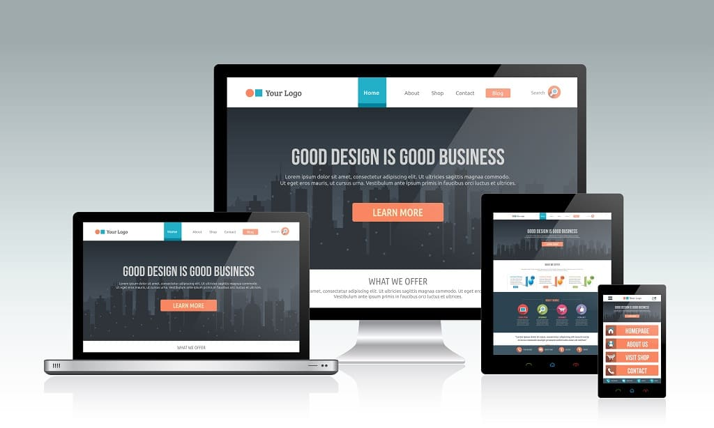 Insurance Website Design Small Business
