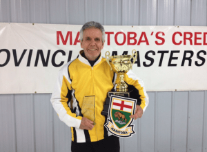 Terry Aseltine, APR, FCPRS, LM and Manitoba masters curling champ