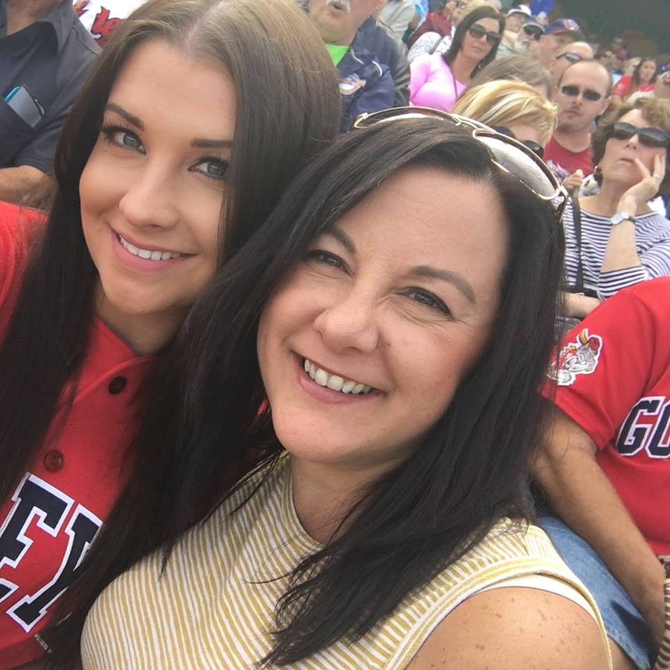 Amber Balcaen and Michelle Bailey