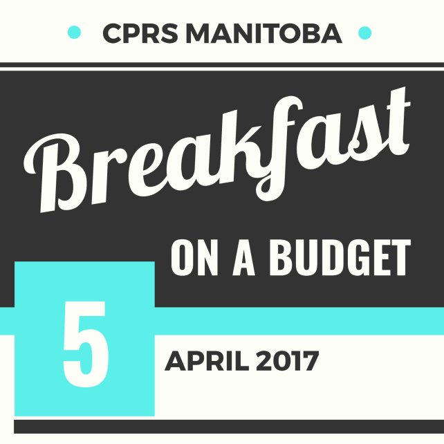 Breakfast on a Budget: A panel discussion on public engagement in parlimentary, legislative and civil affairs | April 5 at 7:30 a.m.