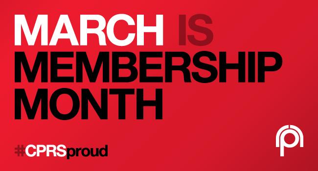 CPRS Membership Month