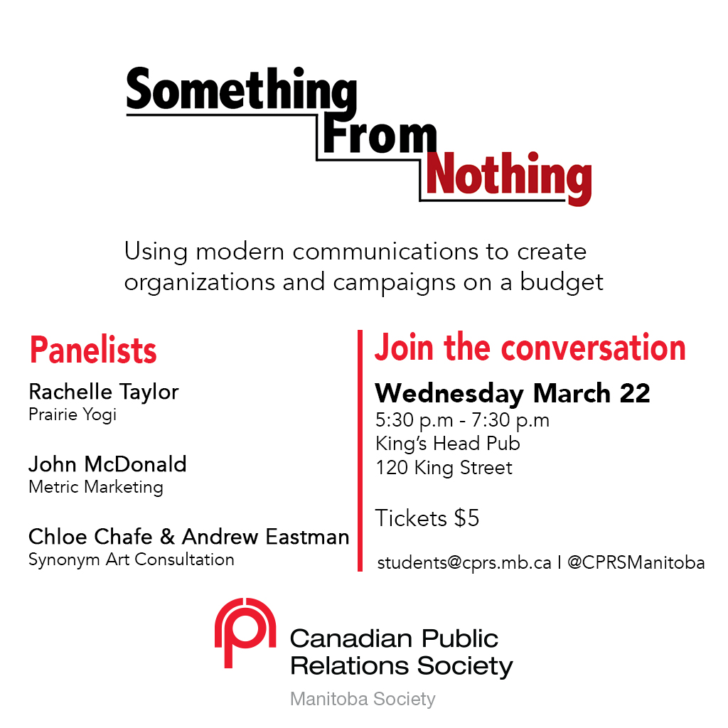 Something From Nothing – An Event for Students