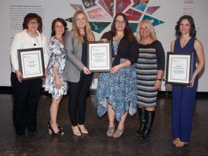 2017 Manitoba Communicator of the Year award recipients