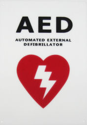 AED Decal