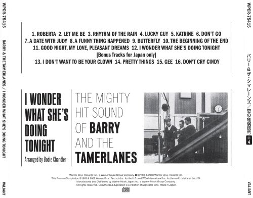 Image result for barry and the tamerlanes billboard ad