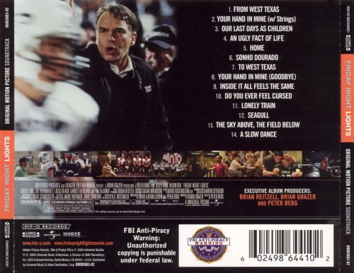 Friday Night Lights [Original Movie Soundtrack]