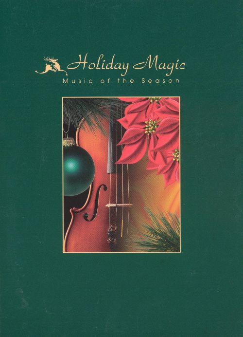 Holiday Magic Music Of The Season BMG Greeting Card CD