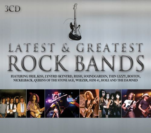 Latest Amp Greatest Rock Bands Various Artists Songs Reviews Credits AllMusic