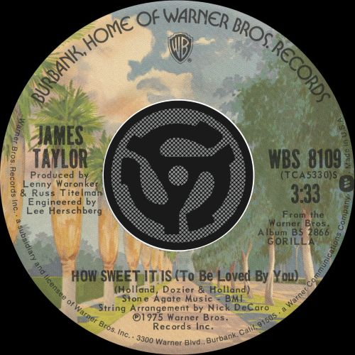 Download How Sweet It Is (To Be Loved by You) - James Taylor ...