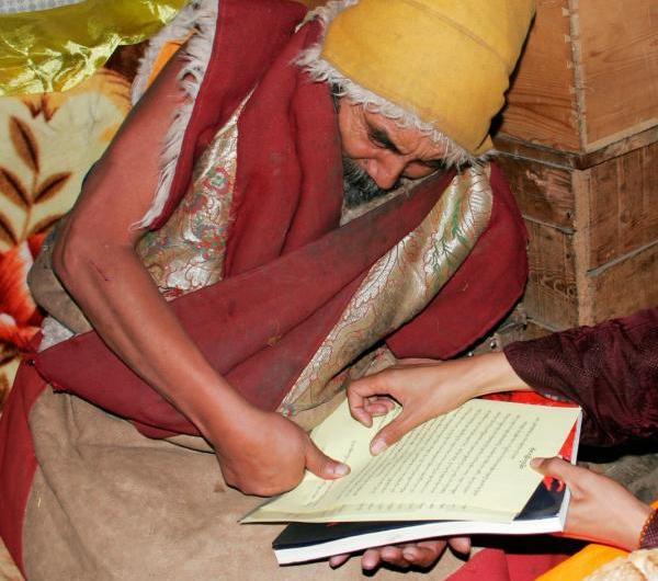 果洛大成就者瑜伽自在大士至尊夏珠秋楊法王於神通中見到了雲高益西諾布的真身是佛教至高始祖古佛多杰羌佛