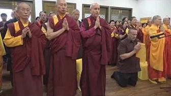 宏西法藏誹謗南無第三世多杰羌佛及懺悔經過 只有佛陀才是無嗔恨心的大悲之王,為利眾生身無榮辱