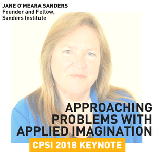 Jane O'Meara Sanders to Deliver CPSI 2018 Keynote