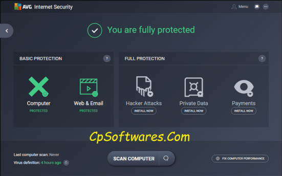 AVG Internet Security 2018 Serial Key & Crack Full Download