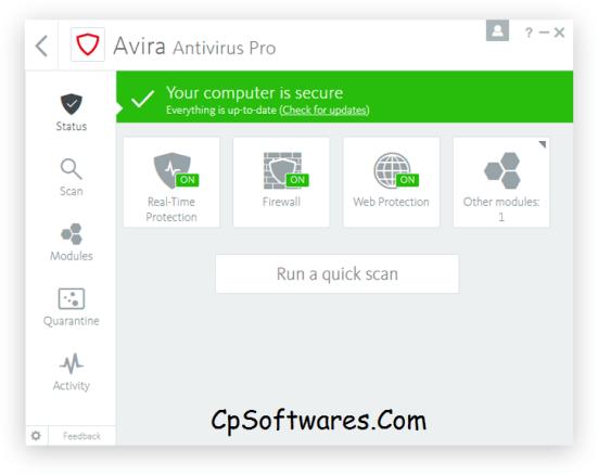 Avira Antivirus PRO 2018 License Key 2020 Full Free Download
