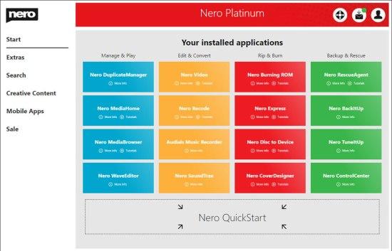 Nero Platinum License Key