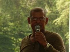 "Pastor Salvador Alcantara, leader of the Garzal/ Nueva Esperanza land struggle shares a few words. ""what God promises, God fulfills."""