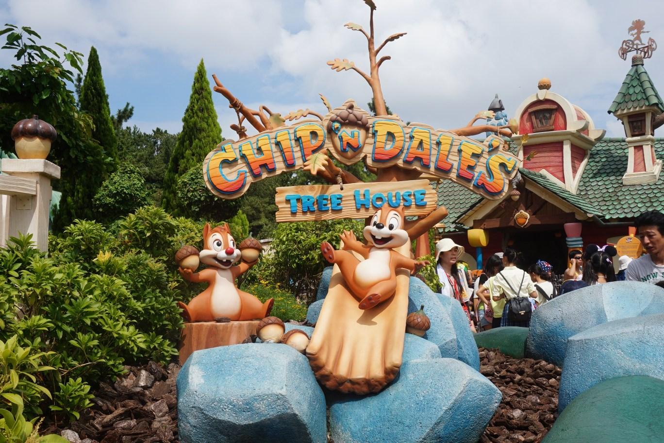 One day Tokyo Disneyland