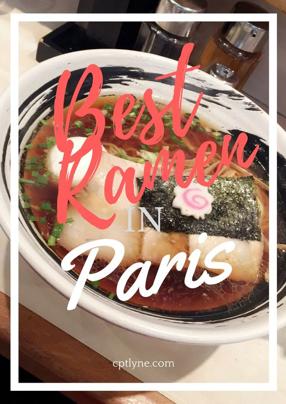 Where to eat Ramen in Paris?