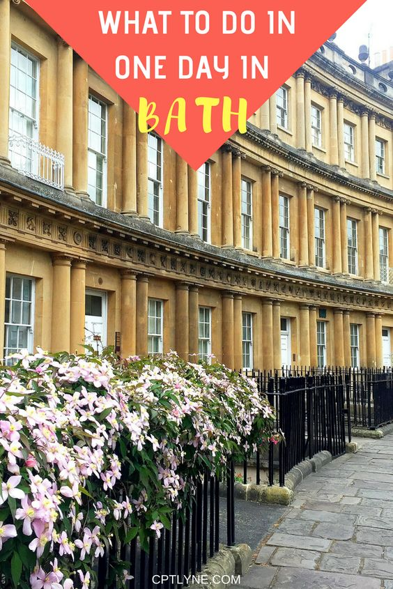 Looking for a nice day trip away from London (or Bristol!) Then head over to the architectural Roman city of Bath in South West of England. See the top things to do in Bath and discover in this lovely city from The Roman Bath to Pulteney Bridge with this little what do to in my one-day guide. #travel #England #Bath #travel #uk #England