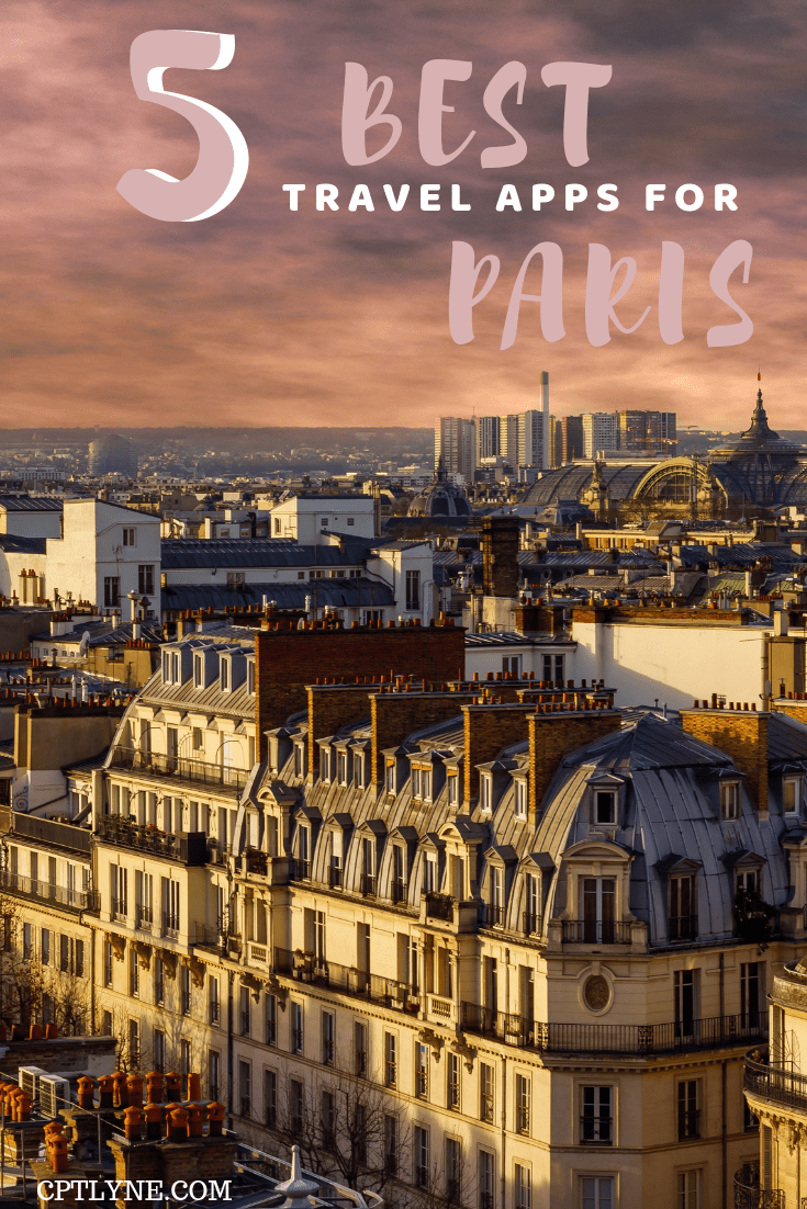 It doesn't take much to plan the perfect trip to Paris, France. You might need a little bit of help to complete everything on your bucketlist though, and what's better than travel apps to help you! With those 5 travel apps you will be able to do the best activities in Paris and eat at the best restaurants. Enjoy Paris like a local! #TravelDestinations #traveltips #paris #france
