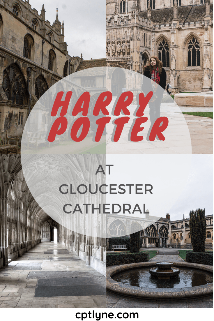 Take a day trip to Gloucester to explore the stunning cathedral of Gloucester to step into the wizarding world of Harry Potter! This british cathedral was one of the shooting locations. Besides this quaint town is the perfect day trip in the U.K! #ukdaytrip #travelingguide #europedestinations