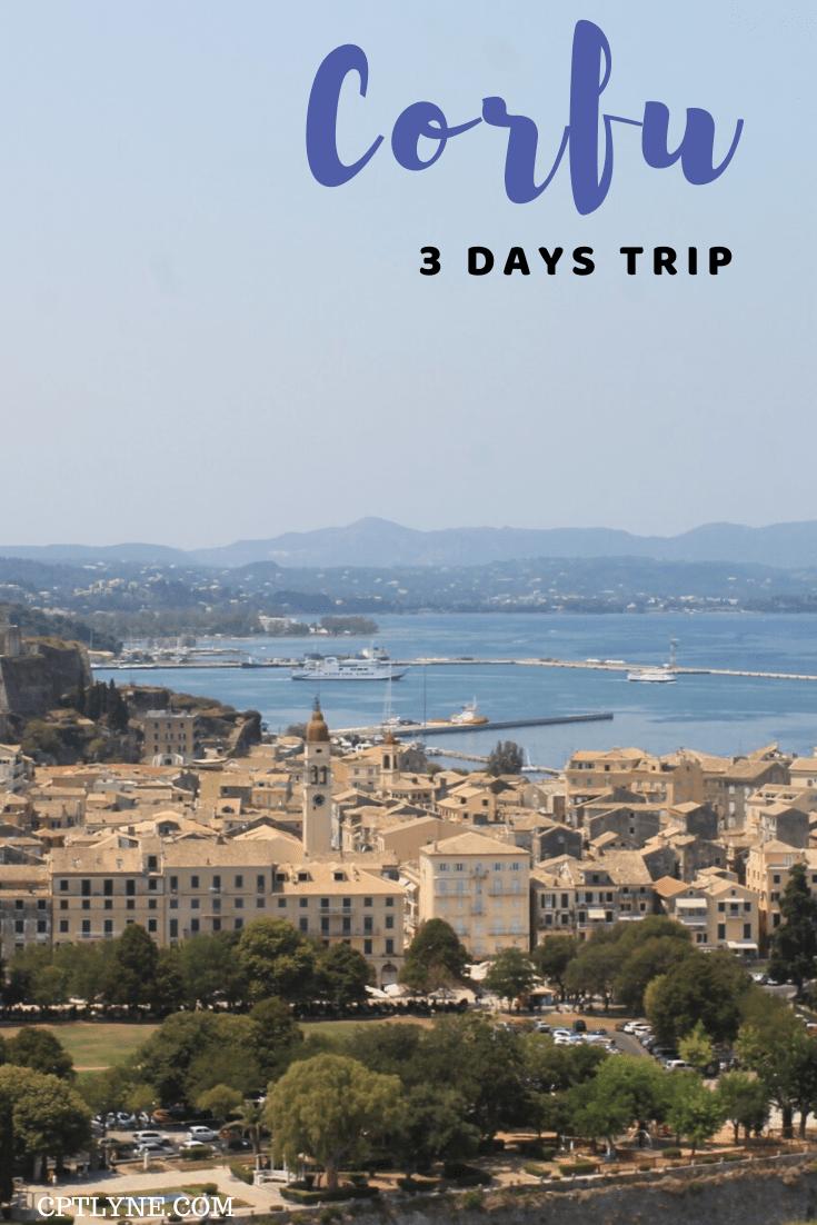 Corfu in 3 days