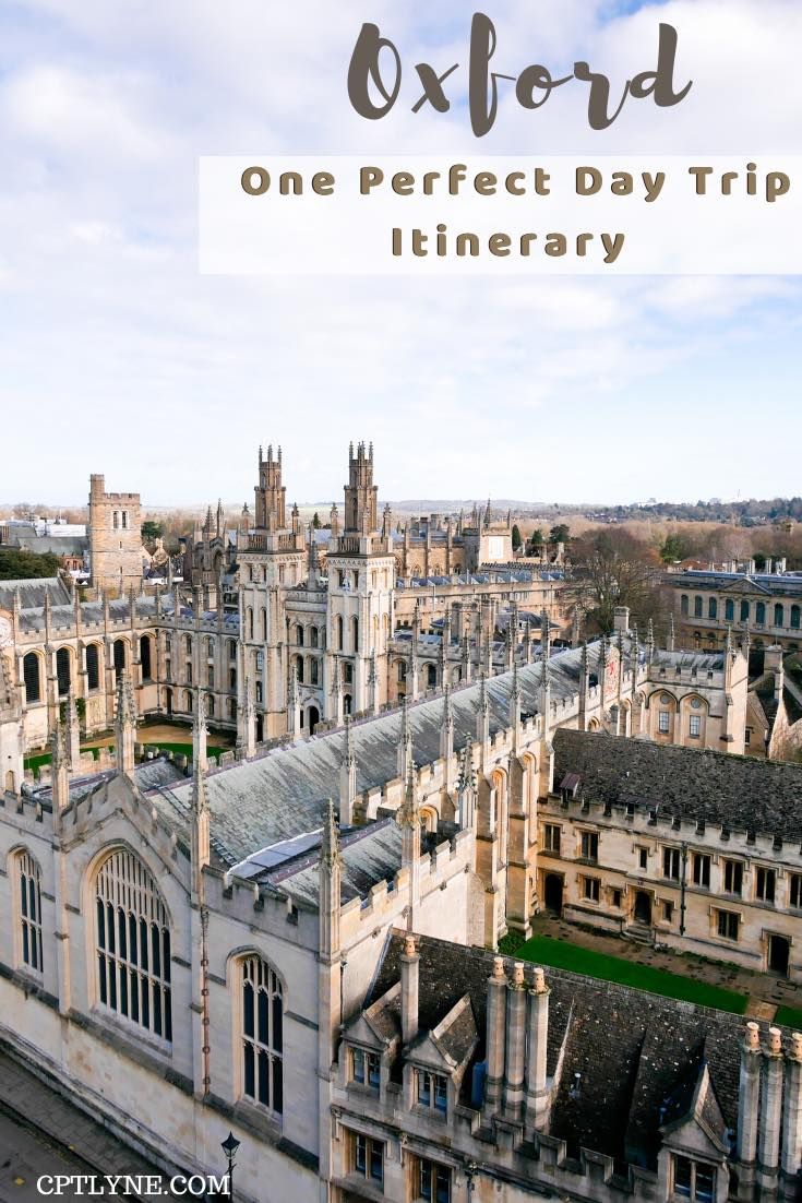 One day in Oxford, UK