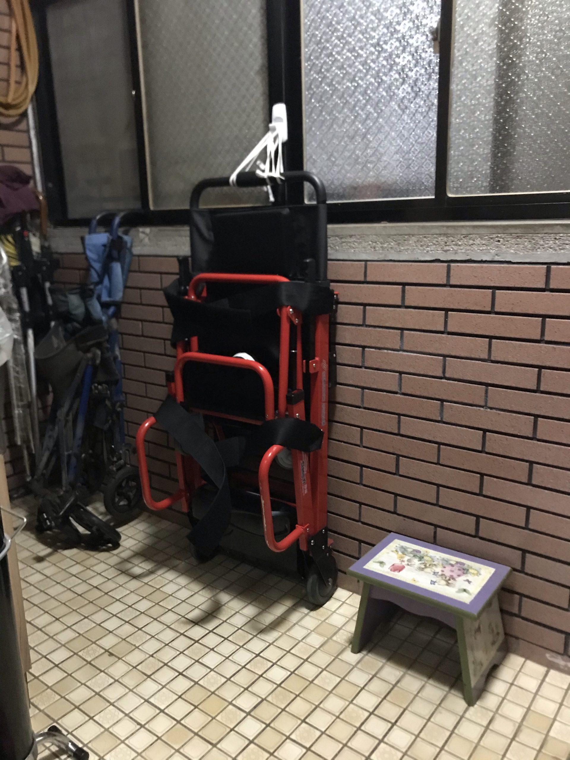 《經驗分享~我家使用爬梯機》