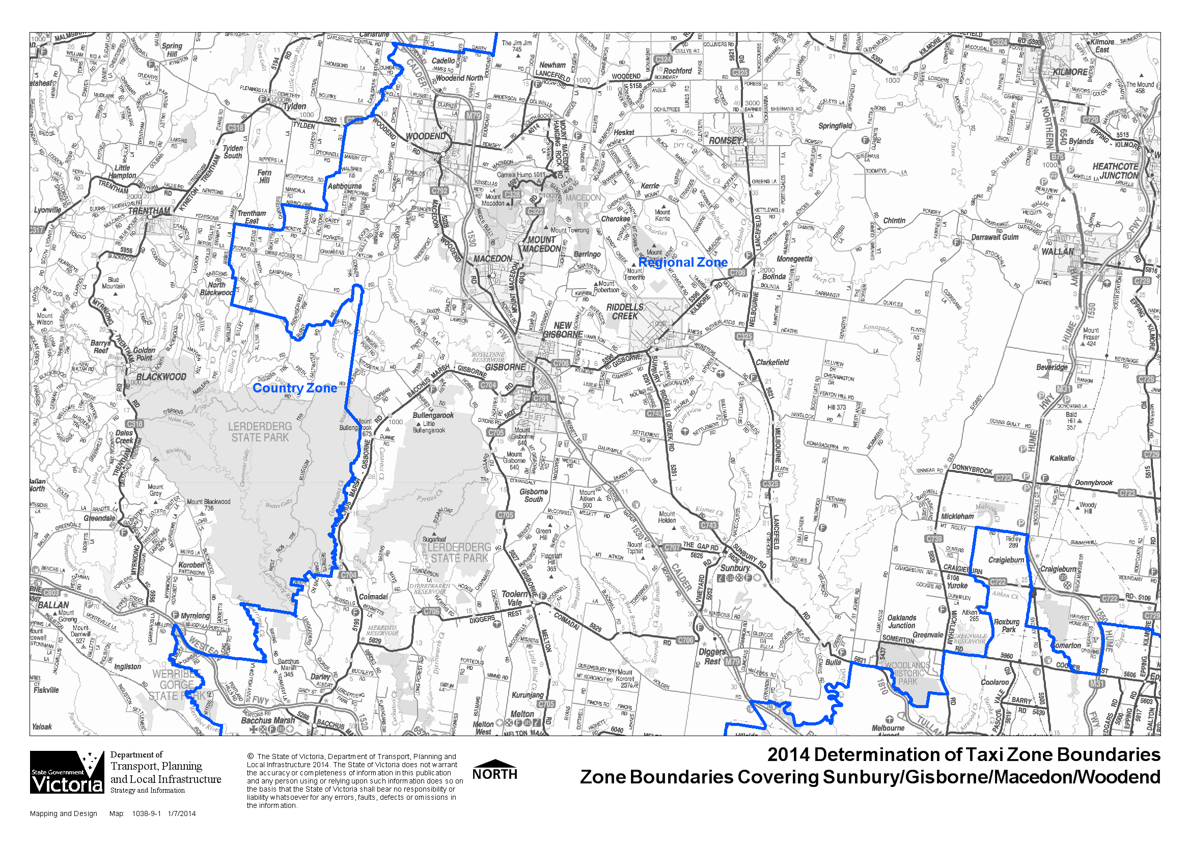 Detailed Maps Of Regional Zone