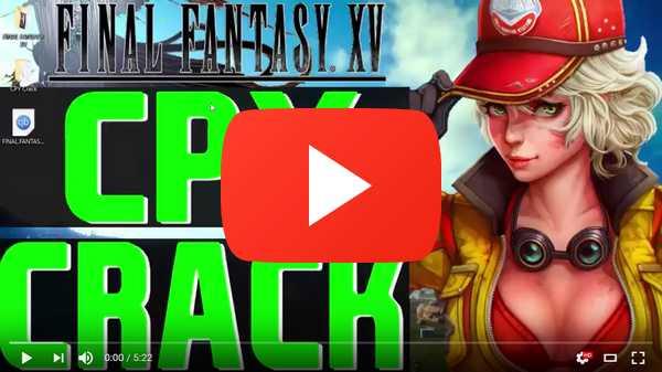 Final Fantasy XV Windows Edition CPY Crack PC Free Download