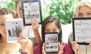social media girls