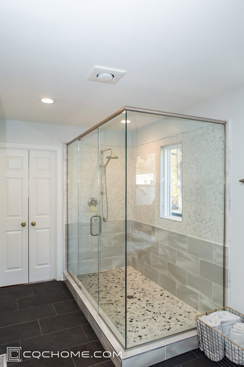 Modern Master Bathroom Remodel Project CQC Home