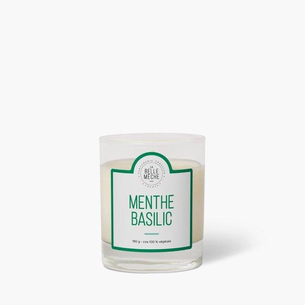 Bougie parfumée Menthe basilic