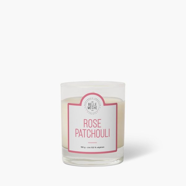 bougie-parfumee-rose-patchouli_la belle meche