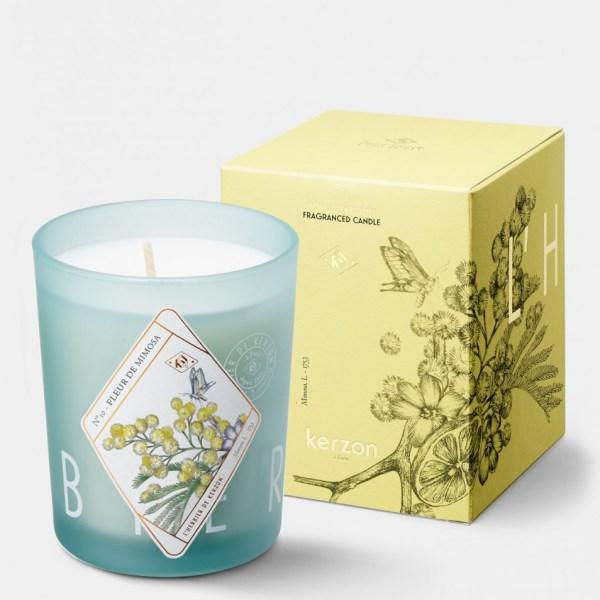 Bougie Parfumée Fleur de Mimosa