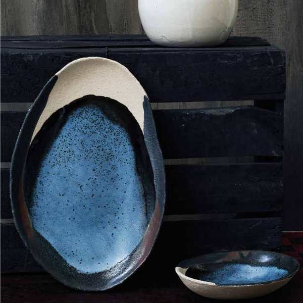 Mini plat ovale – Collection Wabi