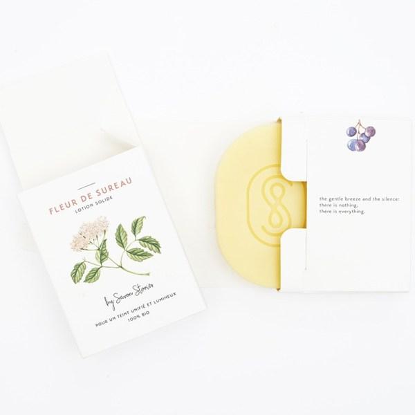 Lotion solide bio Fleur de sureau
