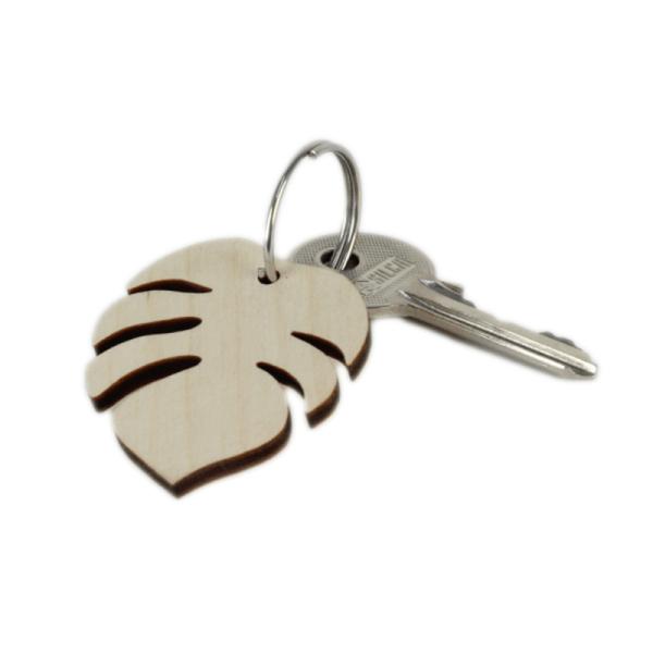 Porte-clés Monstéra