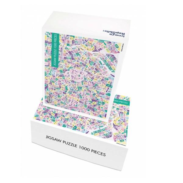 Puzzle illustré Tokyo Corbineau