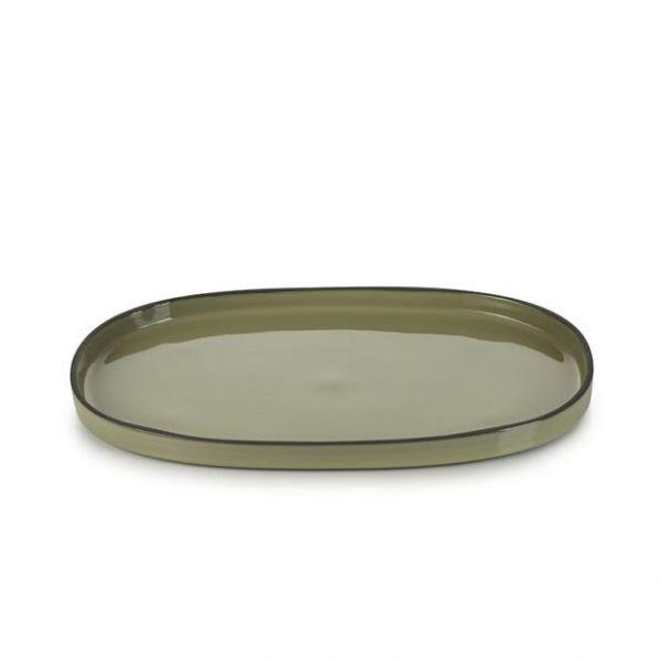 Caractère – assiette ovale
