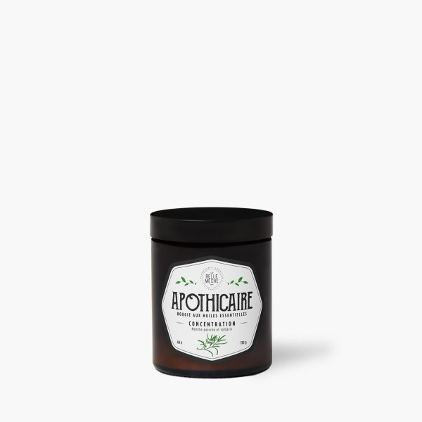 Bougie aux huiles essentielles «Concentration»