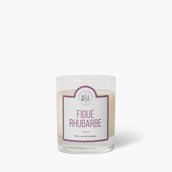 Bougie parfumée Figue Rhubarbe