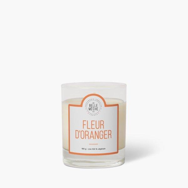 Bougie parfumée Fleur d'Oranger