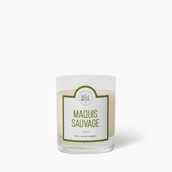 Bougie parfumée Maquis Sauvage