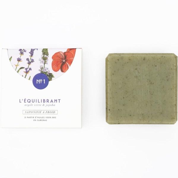 Mini savon bio surgras n°1 à l'argile vert