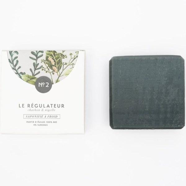 Mini savon bio surgras n°2 au charbon