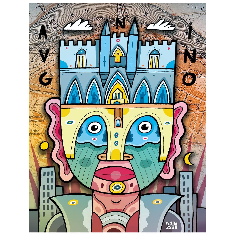 affiche avignon Pablito Zago
